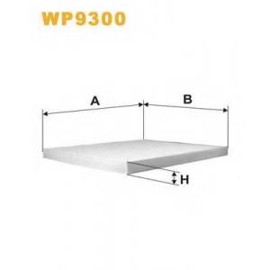 WIX FILTERS WP9300 Фильтр салона KIA CERATO WP9300/K1231 (пр-во WIX-Filtron)