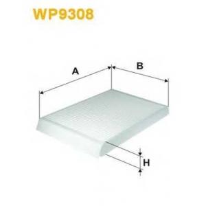 WIX FILTERS WP9308 Фильтр салона WP9308/K1237 (пр-во WIX-Filtron)