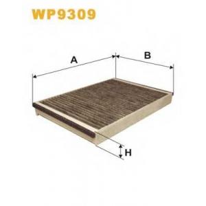 WIX FILTERS WP9309 Фильтр салона угольный (пр-во WIX-Filtron)