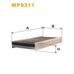 wp9311 wix Фильтр, воздух во внутренном пространстве FIAT SCUDO фургон 2.0 D Multijet