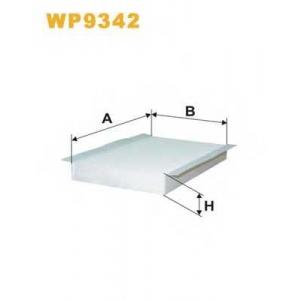 WIX FILTERS WP9342 Фильтр салона WP9342/K1296 (пр-во WIX-Filtron)