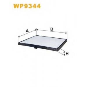 WIX FILTERS WP9344 Фильтр салона WP9344/K1287 (пр-во WIX-Filtron)