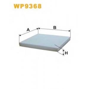 WIX FILTERS WP9368 Фильтр салона WP9368/K1261 (пр-во WIX-Filtron)