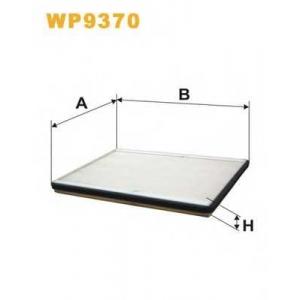 WIX FILTERS WP9370 Фильтр салона WP9370/1264 (пр-во WIX-Filtron)