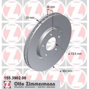 ZIMMERMANN 155390200 Гальмiвнi диски