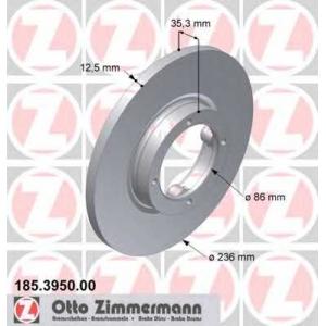 ZIMMERMANN 185395000 Гальмiвнi диски
