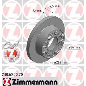 ZIMMERMANN 230624020 Тормозной диск