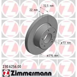 ZIMMERMANN 230625600 Тормозной диск