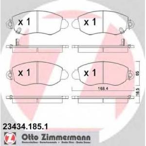 ZIMMERMANN 234341851 Гальмiвнi колодки дисковi