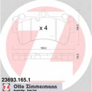ZIMMERMANN 236931651 Запчасть