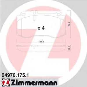 ZIMMERMANN 249761751 Запчасть