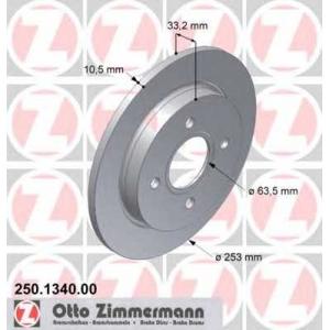 ZIMMERMANN 250134000 Гальмiвнi диски