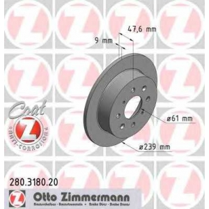 OTTO ZIMMERMANN 280.3180.20
