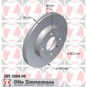 ZIMMERMANN 285350400 Гальмiвнi диски