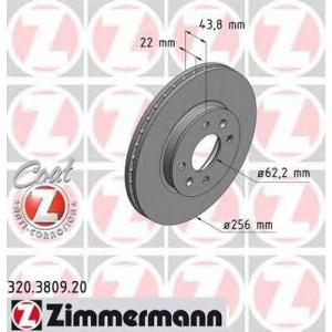 ZIMMERMANN 320380920 Гальмiвнi диски