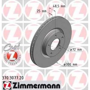 ZIMMERMANN 370307720 Гальмiвнi диски