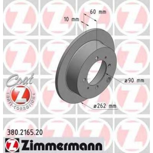 ZIMMERMANN 380.2165.20 Диск гальмівний