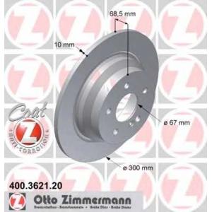 ZIMMERMANN 400.3621.20 Диск гальмівний