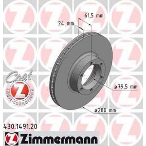 ZIMMERMANN 430149120 Гальмiвнi диски