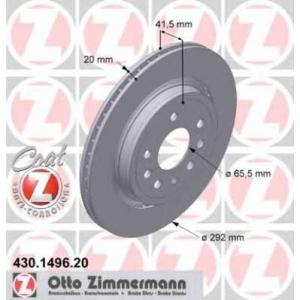 ZIMMERMANN 430.1496.20 L/R FIAT CROMA; OPEL SIGNUM, VECTRA C, VECTRA C GTS; SAAB 9-3, 9-3X 1.8-3.2 10.99-