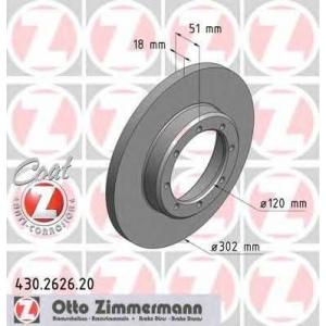 ZIMMERMANN 430262620 Гальмiвнi диски