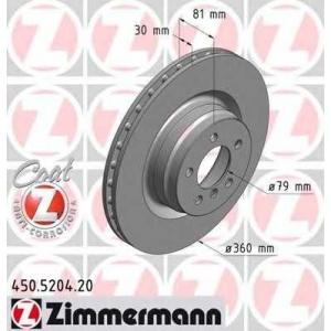 ZIMMERMANN 450520420 передний Range Rover III, Range Rover Sport (360x30)