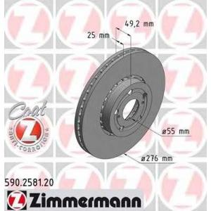 ZIMMERMANN 590258120 Тормозной диск