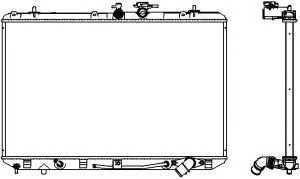 Toyota 16041-0V050 Radiator