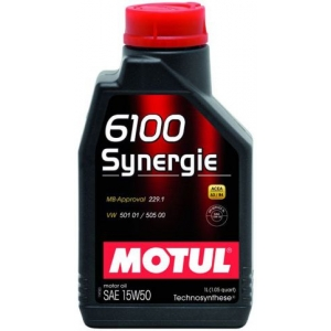 MOTUL 102780 Моторное масло 6100 Synergie 15W50 12*1л 100325/102780 1