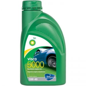 BP VISCO 114496 Масло моторное BP Visco 5000 синт 5W40 1л. 1